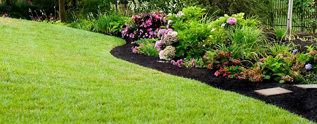 Grass Mowing and Flower Bed Maintenance
